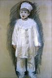 Little Pierrot (Piccolo Pierrot) Giclee Print by Giuseppe De Nittis
