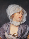 Portrait of a Young Woman Giclee Print by Jean-Baptiste Greuze