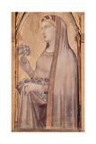 Madonna and Child with Sts Magdalene and Dorothea Giclee Print by Lorenzetti Ambrogio