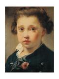 Portrait of Maurino Gandolfo Giclee Print by Gaetano Gandolfi