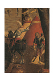 Legend of St Ursula. Arrival in Cologne Giclee Print by Vittore Carpaccio