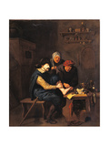 Foot Surgery Giclee Print by Dusart Cornelis