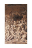 Resurrection of Lazarus Giclee Print by Camillo Procaccini