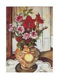 Fleurs Impression giclée par Suzanne Valadon