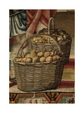 Months. October (I Mesi Trivulzio. Ottobre) Giclee Print by Benedetto from Milan (Bramantino)