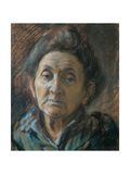 Portrait of An Old Woman Giclee Print by Boccioni Umberto