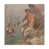 Polyphemus Receives Galatea's Letter Giclee Print by  Unknown
