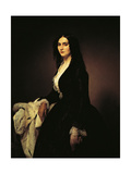 Portrait of the Singer Matilde Juva Branca Giclee Print by Francesco Hayez