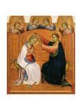 Jomfruens kroning Giclée-tryk af Gherardo Starnina