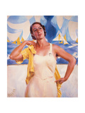 Daughter of the Sun Giclee Print by Giacomo Balla