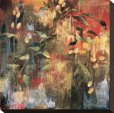 Rich Gold I Stretched Canvas Print by Elizabeth Jardine