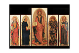 Polyptych of St. James by Michele Giambono, c. 1450. Accademia, Venice, Italy Prints by Michele Giambono