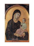 Altar frontal No. 28: Madonna and Child Giclee Print by Duccio Di buoninsegna