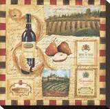 From the Wine Land I Stretched Canvas Print by Elizabeth Jardine