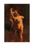 Two Bathers Posters by Jean-François Millet