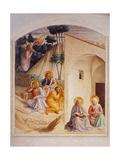 Prayer in the Garden of Gethsemane Art by  Beato Angelico