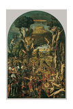 Martyrdom of the Ten Thousand Christians on Mount Ararat Plakater af Vittore Carpaccio