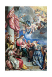 Mystic Marriage of St. Catherine Plakater af Veronese