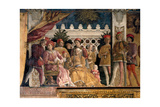 Court of Gonzaga Poster by Andrea Mantegna