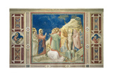 Life of Christ, Raising of Lazarus Poster by  Giotto di Bondone