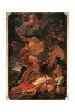Martyrdom of St. Gerard Sagredo Prints by Carlotto, Loth