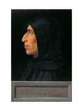 Portrait of Savonarola Posters by  Fra Bartolomeo