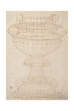 Vase in Perspective Prints by  Piero della Francesca