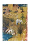 Garden of Earthly Delights-The Earthly Paradise Poster von Hieronymus Bosch
