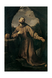 St. Francis in Ecstasy Prints by Guido Reni