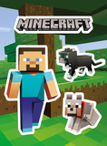Minecraft - Steve Pets Sticker Pack Stickers