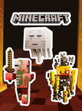 Minecraft - Mobs Nether Sticker Pack Stickers