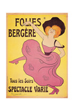 Poster for Follies Berger Art by Leonetto Cappiello