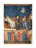 Allegory of Good Government (detail) Prints by Ambrogio Lorenzetti