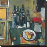 Vin Blanc Reproduction sur toile tendue par Jay Li