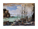 View of a Port Prints by Paul Bril