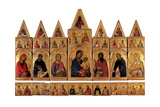 Polyptych of St Catherine Kunst von Simone Martini