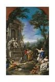 Tomb of Robert Boyle, John Locke & Thomas Sydenham Print by Nunzio  & Donato Ferrajoli & Creti
