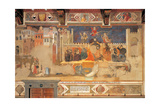 Allegory of Bad Government Posters by Ambrogio Lorenzetti