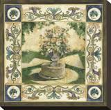 Garden Bouquet Stretched Canvas Print by Elizabeth Jardine