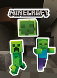 Minecraft - Mobs Caves Sticker Pack Stickers