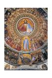Paradise. Domed vault of the Baptistery Print by Giusto de Menabuoi
