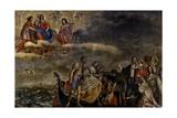 Miraculous Rescue Posters by Girolamo Forabosco