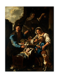 Family of Beggars Prints by  Il Todeschini