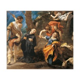 Martyrdom of Four Saints Giclee Print by  Correggio
