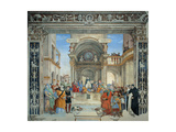 Triumph of St. Thomas Aquinas Art by Filippino Lippi
