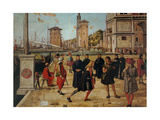 Legend of St. Ursula. The Return of the Ambassadors Print by Vittore Carpaccio