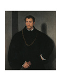 Young Englishman Posters af  Titian (Tiziano Vecelli)