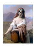 Rebecca at the Well Prints by Francesco Hayez