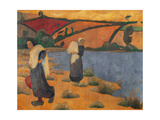 Brittany Women Poster by Emile Bernard