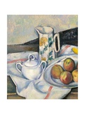 Still Life with Peaches and Pears Posters by Paul Cézanne